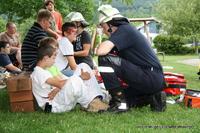 Neben den Angehörigen der Freiwilligen Feuerwehr Mössingen...