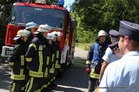 ...und der zweiten Gruppe unmittelbar vor der technischen Hilfe Prüfung.