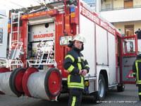 Die Maßnahmen der Feuerwehr beschränkten sich auf das Belüften der Wohnung.