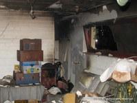 Der Raum wurde vorwiegend als Lagerraum genutzt.